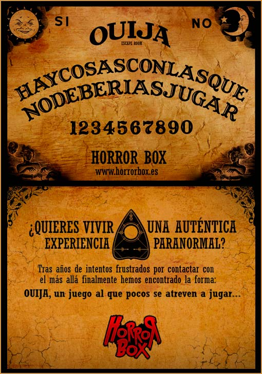 Ouija Escape Room Opiniones